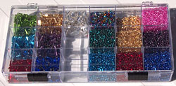 Bead storage box